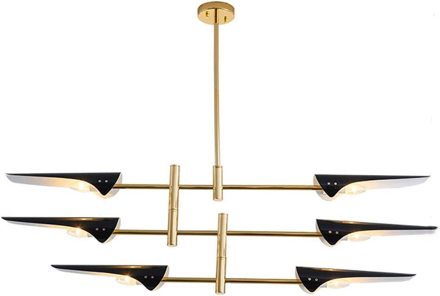 GONGFF Adjustable Pendant At the price of surprise Lighting Simple Aircraf Modern Fixture Directly managed store