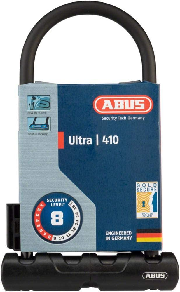 Sports & Outdoors Bike Locks ABUS 410 Ultra U Lock thepuneet.com