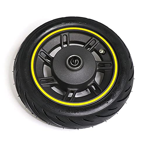 Rueda delantera de 10 pulgadas con vacío Tubeless Tire Asamblea 60/70-6.5 55PSI para Ninebot Max G30-X Kickscooter