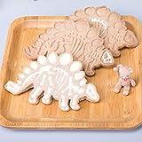 Immagine 1 forme biscotti dinosauri 3 pezzi
