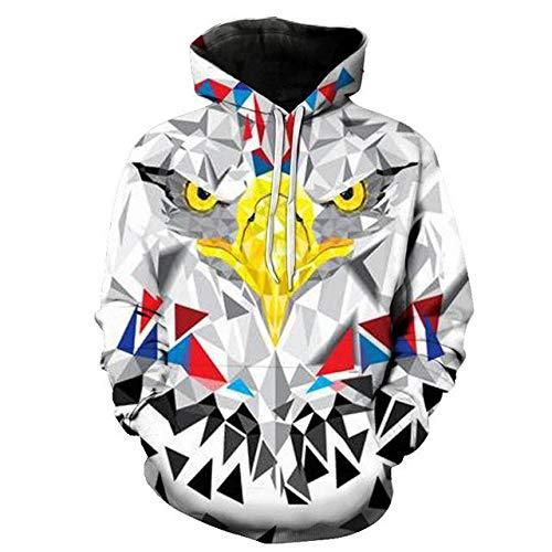 zysymx Beiläufiges Sweatshirt mit Kapuze niedliche Katze Sweatshirt Damen Katze Hoodie Herbst und Winter Pullover Shirt Spaß Coole Katze auf