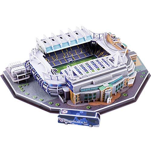LIZONGFQ Puzzle clásico DIY 3D Puzzle World Football Stadium Estadio Europeo Estadio Modelo arquitectónico Juguetes educativos interactivos,4