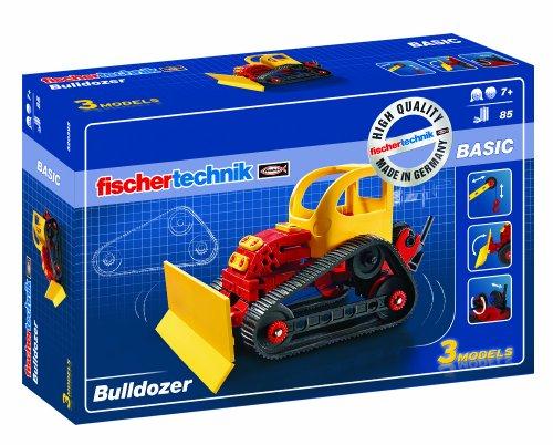 fischertechnik - 520395 ADVANCED Bulldozer, Konstruktionsspielzeug