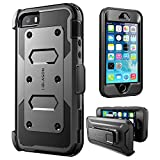 i-Blason iPhone SE Case, [Armorbox] built in [Screen Protector] [Full body] [Heavy Duty