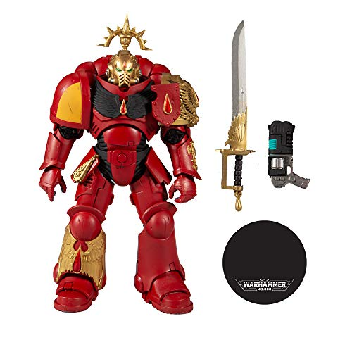 Mcfarlane Warhammer 40k - 7' Figure - Blood Angels Primaris Lieutenant - Gold Label Series 11047-0