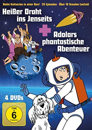Heißer Draht ins Jenseits + Adolars phantastische Abenteuer (4 DVDs)