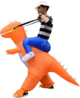 Inflatable Dinosaur Costume Costume Riding in a Dinosaur Inflatable Fancy Dress Blow Up Costumes Adult
