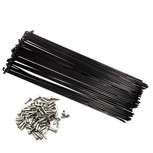 FMF Sport 36PCs Bike Spokes Stainless Steel Bicycle Spokes With Nipples 291-300mm (293)