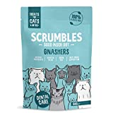 Scrumbles Gnashers for Cats, Chicken Dental Bites 8 x 60g