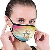 CZLXD - Máscara Antipolvo para Perro, diseño de Unicornio, para Hombre y Mujer