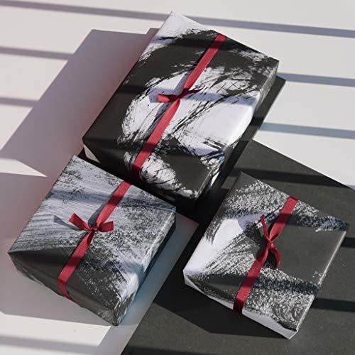 3 Bogen künstlerisches Geschenkpapier: Kaizen von Ugoku Movement (Edition 2)
