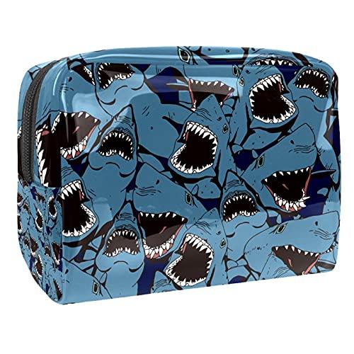 Bolsas de cosméticos de viaje con diseño de mariposa, color rosa, 18,5 x 7,5 x 13 cm, bolsa de maquillaje, bolsa de cosméticos de viaje, Multi-2, 18.5x7.5x13cm/7.3x3x5.1in,
