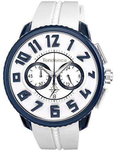[テンデンス] 腕時計 Altec Gulliver ホワイト文字盤 TY146001 正規輸入品 ホワイト