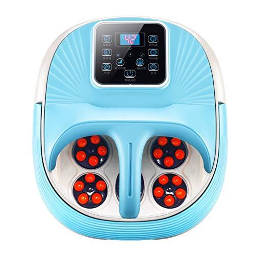 XQAQX voetmassage-apparaat, voor voeten, spa, badkamer, massageapparaat, elektrische badkamerkamer, verwarming, automatische massage, voeten inweken