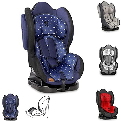 Lorelli Kindersitz Sigma + SPS Gruppe 0/1/2 (0-25 kg), verstellbare Rückenlehne, Farbe:dunkelblau