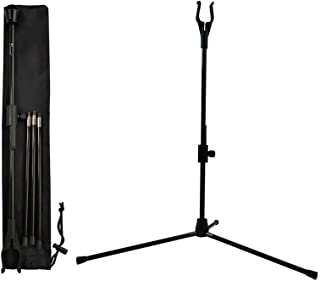 YLS Archery Bow Stand Recurve Bow Compound Bow Stand Rack Holder Legs 18.9