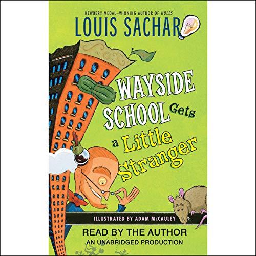Wayside School Gets a Little Stranger audiobook cover art