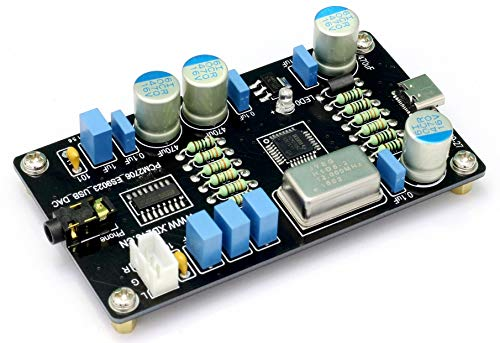 Learn More About Finished Audio PCM2706 USB DAC ES9023 Hi-Fi Audio Decoder Sound Card Board