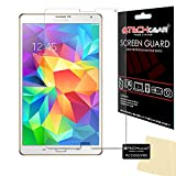 TECHGEAR Protection d'Écran pour Galaxy Tab S 8.4, Film de Protection Ultra Clair avec Chiffon et...