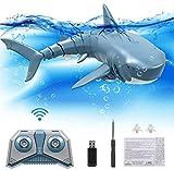 Laelr Mini RC Water Toy Simulado Shark Fish Toy para niños Underwater Shark Swim Remote Control Toy Shark Water Game Boat Toys Recargable Baño electrónico Toy Gift para niño / niña
