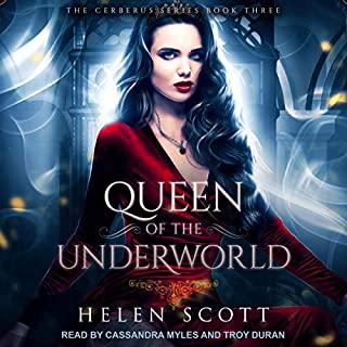 Queen of the Underworld: A Reverse Harem Romance audiobook cover art