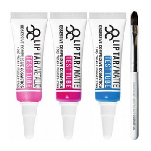 (3 Pack) OBSESSIVE COMPULSIVE COSMETICS Lip Tar Test Tube Trio : PICCADILLY PALARE - Piccadilly Pala