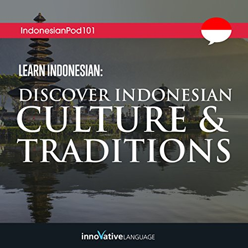Learn Indonesian audiobook cover art