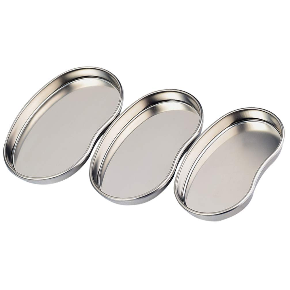 unisex Healifty Instrument Tray Courier shipping free shipping Stainless Reusable Kid Steel Metal