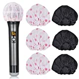 BILIONE Disposable Microphone Covers, Total 240 Pcs Clean Non-Woven Fabrics Mic Covers(Black & White)