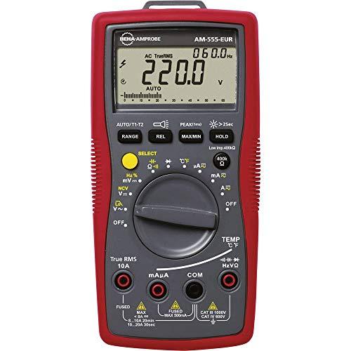 Beha-Amprobe AM-555-EUR Hand-Multimeter digital CAT III 1000 V, CAT IV 600V Anzeige (Counts): 6000