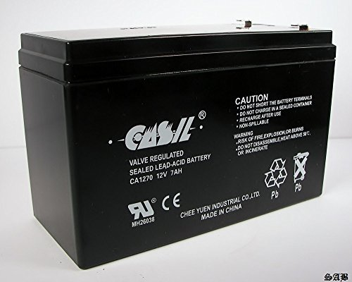CASIL 12V 7AH CA1270 FIRST ALERT ADT ALARM BATTERY