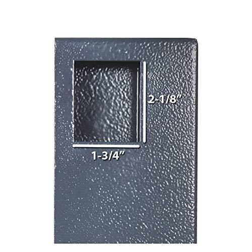 DuraBox 40 Keys Steel Safe Cabinet with Digital Lock - Electronic Key Safe with Drop Slot for Key Returns and Safe Storage (Dark Grey) Photo #6