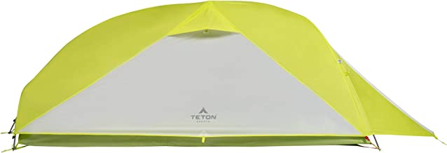 TETON Sports ALTOS Tent; 1-2 Person Backpacking Tent Includes Footprint and Rainfly; Quick and Easy Setup; Ready in an Instant When You Need to Get Outdoors; Clip-On Rainfly Included
