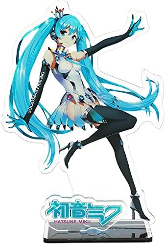 CoolChange Vocaloid Deko Aufsteller aus Kunststoff, Figur: Miku Hatsune
