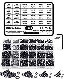 TOCYORIC 1220 tornillos de cabeza avellanada, juego de tornillos...