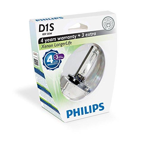 Philips Xenon Leuchtmittel Xenon LongerLife D1S 85 V 1 St. PK32D