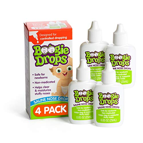 Baby Nasal Saline Drops by Boogie Drops