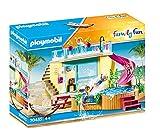PLAYMOBIL Family Fun 70435 - Bungalow con piscina, Dai 4 anni