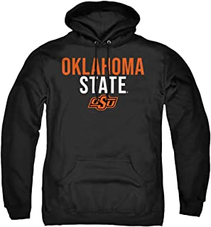 Oklahoma State University Official Stacked Unisex Adult Pull-Over Hoodie