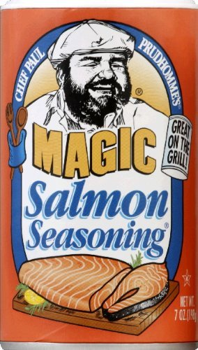 Chef Paul Prudhomme's Magic Salmon Seasoning 7 oz 3 Pack