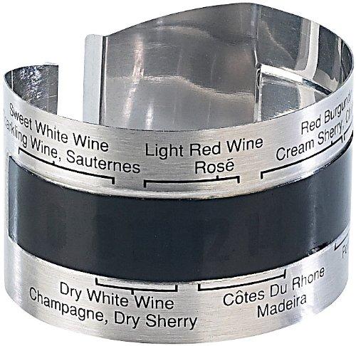Rosenstein & Söhne Thermomètre pour Bouteille de vin