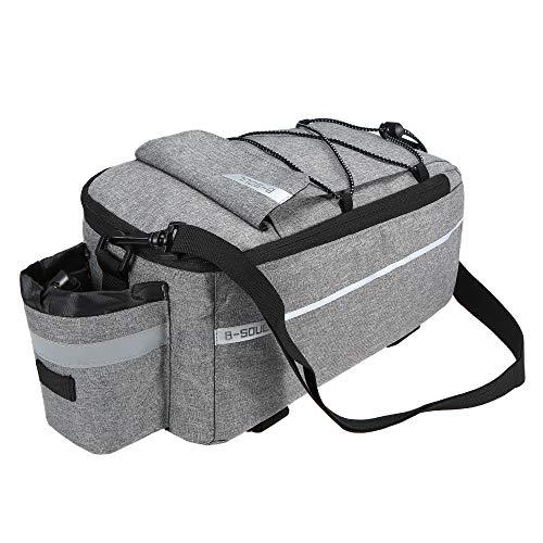 Festnight Gepäckträgertaschen, Isolierte Stammkühltasche Radfahren Fahrrad Gepäckträger Gepäcktasche Reflektierende MTB Bike Pannier Bag Umhängetasche