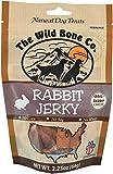 Wild Bone Company Rabbit Jerky Natural Dog Treats, 2.25 Ounces, Made in The USA