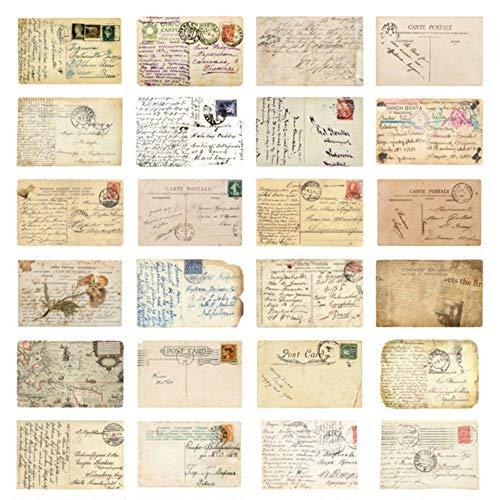 Dice 30 Stück/Box Retro Vintage Style Alte Erinnerungen an die Wiederherstellung der Postkarte Kreatives Briefpapier Schreiben Gruß Geschenk Postkarten, Retro Postkarte