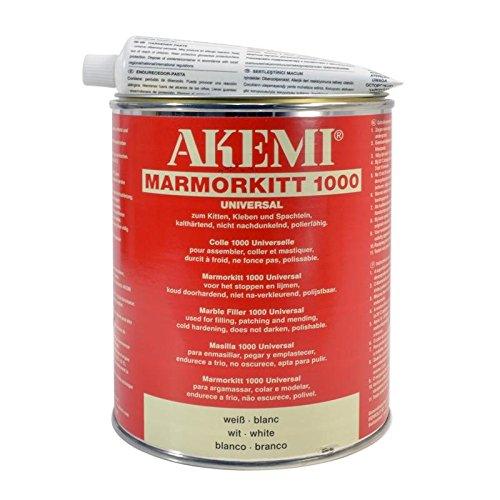 AKEMI Marmorkitt 1000 Universal, weiß, 1l