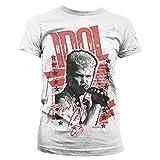Photo de Billy Idol - Rebel Yell '83 Official Women T-Shirt (White), Large
