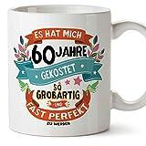 MUGFFINS Geburtstagstasse 60 Jahre Alt - Becher/Mug als