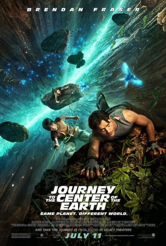 Journey to the Center of the Earth 3D Ver B Double Sided Movie Poster 27x40