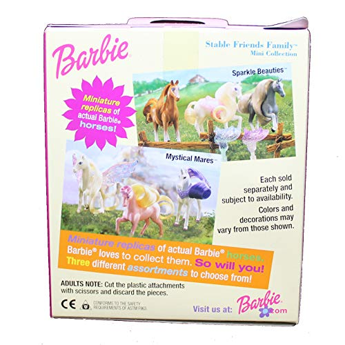Mattel Mattel Barbie 3 Mini Caballos