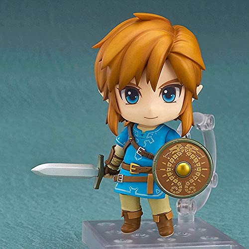 The Legend of Zelda Link With Replaceable Accessories Anime Character Model Version Q Figurine Statue PVC Model Toys Adult Anime Figure D Anime Collection Otaku / Decorati